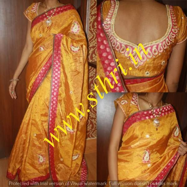 Designer Blouse Tailors In Chennai.  Traditional Sleeveless Shimmer Blouse In Vadapalani, Three Fourth Embroidery Designer Blouse At Vadapalani, Velvet Designer Blouse Near Vadapalani, Chinese Collar Designer Blouse Around Vadapalani