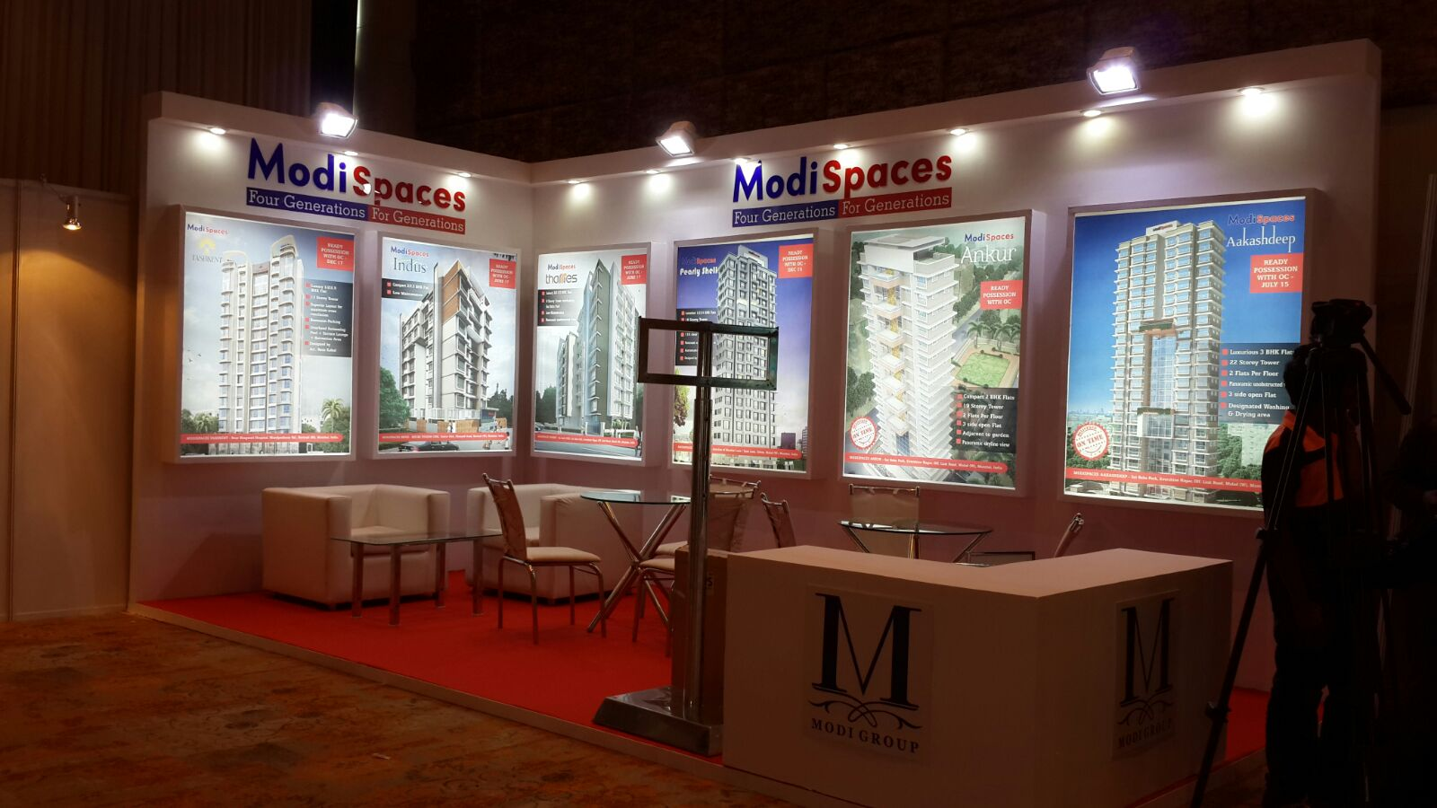 Exhibition Stall designer and Exhibition Stall Fabricator in India. Dimension Events is the best solution for your Exhibition Booth in India.