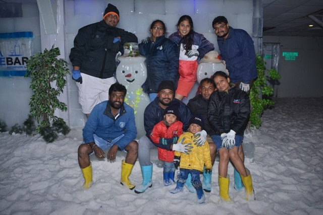 No matter how old you're #Snow_Park welcomes you to enjoy your holidays with your family or friends.