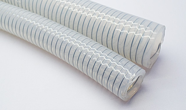 HiPoVacc (Transparent Stainless Steel Helix Reinforced Silicone Hose)  HiPoVacc is 'platinum cured silicone hose' reinforced with SS 316L helical wire. It has better transparency to visualize flow and kink resistance.  Having antistatic properties to dissipate static electrical charge makes it suitable for highly volatile flammable fluid transfer.  This hose is designed for material transfer application under high vacuum in pharmaceutical industries.    Application:  • Pharmaceutical Processing • Powder Fluid Transfer • High Vacuum Applications • Food Processing • Load Cell Application • Bulk Transfer • Biotechnology  Temp. Range: -60°C and 200°C. (+260°C on request)  Colour: Transparent  Smooth inner and outer surface to resist material adhesion   Suitable for pressure and vacuum.  Suitable for CIP and SIP cleaning  Odourless, Tasteless, Non-Toxic   Certification:  • Conforms to US FDA 21 CFR 117.2600 Food Grade Standard • Conforms to USP Class VI • ROHS certified, free of restricted heavy metals • Free of Phthalate/Bisphenol/ Volatile Plasticizer • TSE/BSE Certification (free of animal derived material) • USFDA DMF accreditation 29761    Keyword:-  1 8 inch silicone vacuum hose 1/2 inch silicone vacuum hose 1/2 silicone vacuum hose 1/4 id silicone vacuum hose 1/4 silicone vacuum hose 1/8 silicone vacuum hose 10 mm black silicone vacuum hose 10 mm silicone vacuum hose 12mm silicone vacuum hose 16mm silicone vacuum hose 2 mm silicone vacuum hose 22re silicone vacuum hose kit 3 16 silicone vacuum hose 3.5 mm silicone vacuum hose 3.5mm id silicone vacuum hose 3.5mm red silicone vacuum hose 3.5mm silicone vacuum hose uk 3/4 silicone vacuum hose 3/8 silicone vacuum hose 300zx silicone vacuum hose 300zx silicone vacuum hose kit 4 mm id silicone vacuum hose 4mm silicone vacuum hose 5 mm silicone vacuum hose 5/32 silicone vacuum hose 5/8 silicone vacuum hose 7 32 silicone vacuum hose 8mm silicone vacuum hose audi tt silicone vacuum hose auto silicone vacuum hose automotive