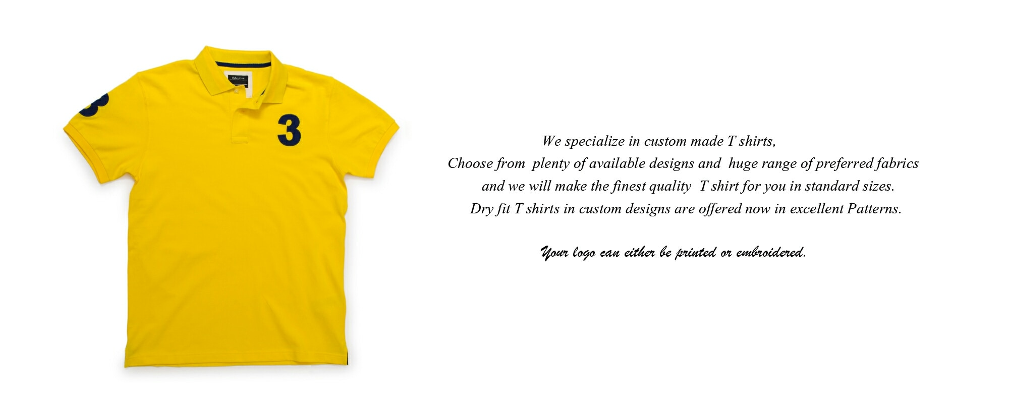 Custom made Premium T shirts from colors Inc