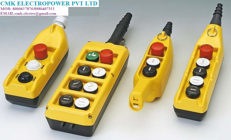 PENDANT STATION FOR THE EOT CRANE WE are the Authorised Distributor for the