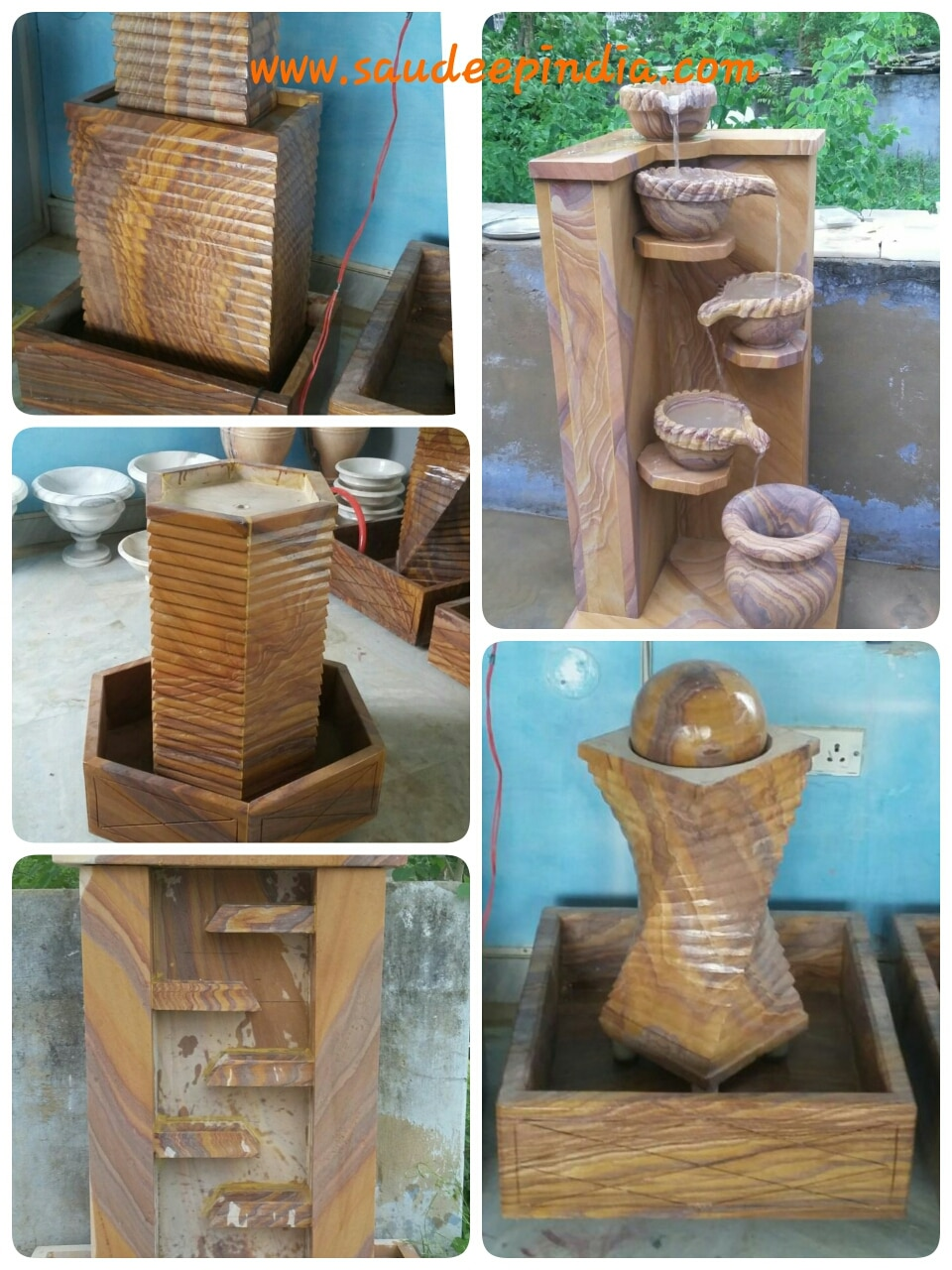 Our new range of Sandstone, Marble Fountain. We are manufacturer and exporter of Marble, Stone Fountain in Jaipur. We export fountains to Malasiya, brunei, China, Indonesia, kuwait...etc