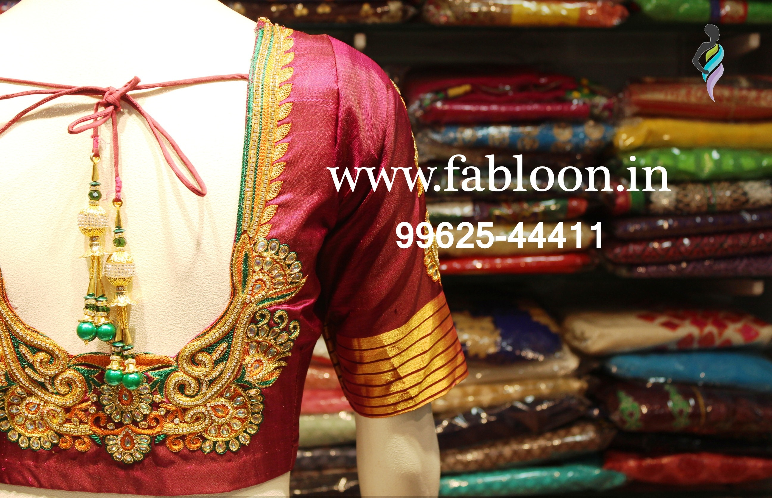 Wedding Blouse Tailors In Chennai.  Latest Blouse Designs For Wedding At Fabloon Wedding Saree Blouse Tailors In Vadapalani, Mob: +91 9962544411, 044 48644411.       With the latest and chic Wedding Blouse Designs near Vadapalani, complete your desi look on your special occasion.   Providing an array of options, you could choose the best suited Latest Designs On Wedding Blouses according to your taste.  Latest Blouse Designs for wedding are one of the best-sellers at Fabloon.  Also, complete your Ultra-Modern look with the right Saree and you should not fail to impress the wedding crowd.  Grab your Ideal Blouse for bride's mother as well. Click watch for more Updates.