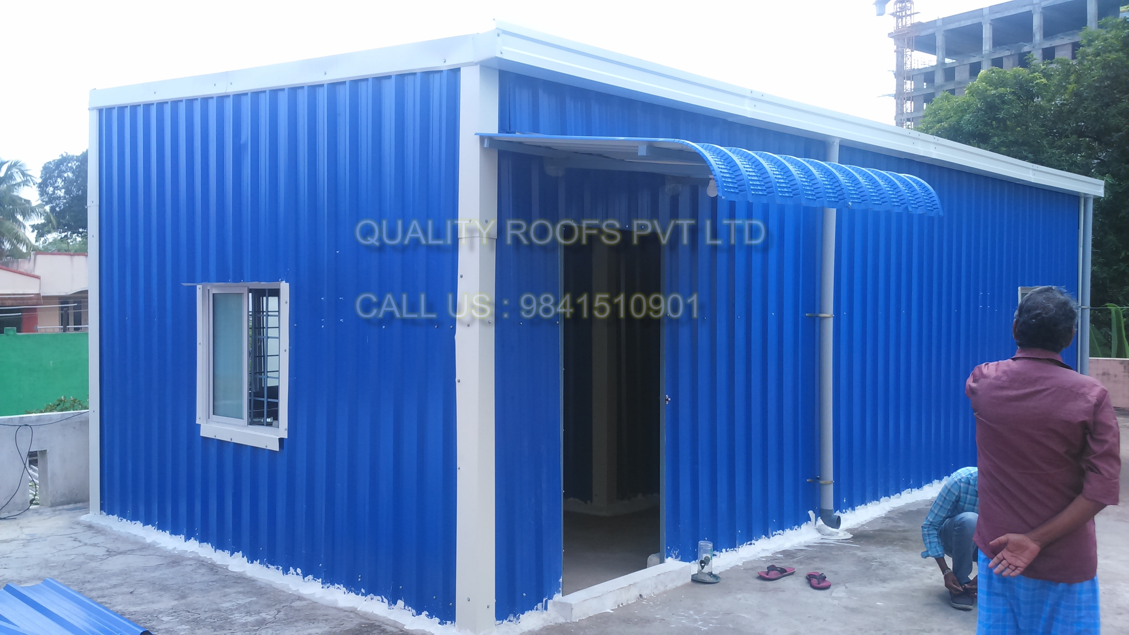 Warehouse Roofing Contractors In Chennai     Warehouse Roofing Contractors In Chennai. Our Company provides a complete range of Steel Industrial Shed. Our steel industrial sheds are catered to diversified requirements of various industrial establishments. Our expertise is capable in fabricating such steel structural sheds in different sizes and dimensions and other optional features as per the specified requirements of our clients. We are undertaking all kinds of Roofing Works In Chennai.