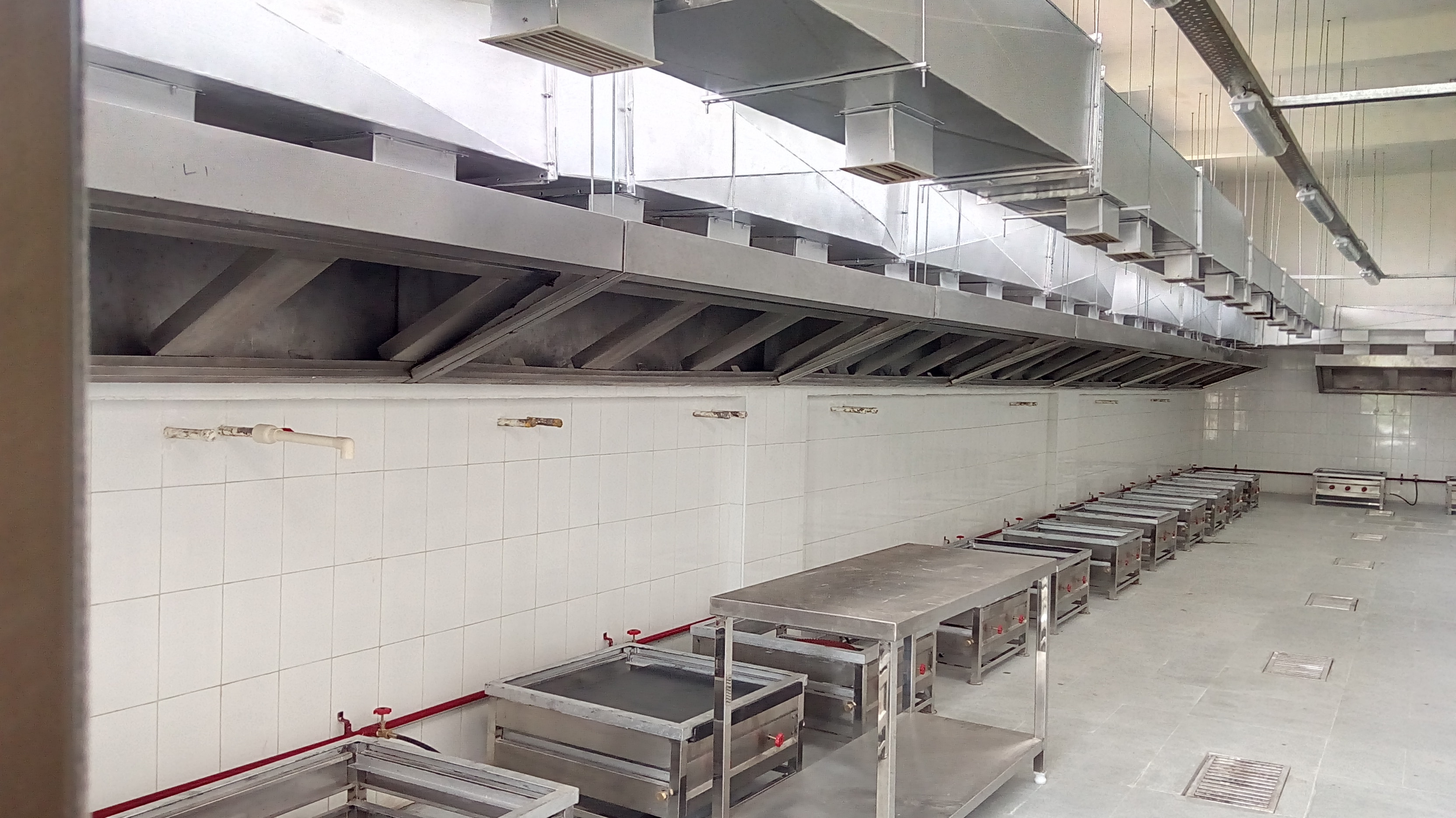 Exhaust & Fresh Air System Done At Curry 'N' Crunch Central Kitchen