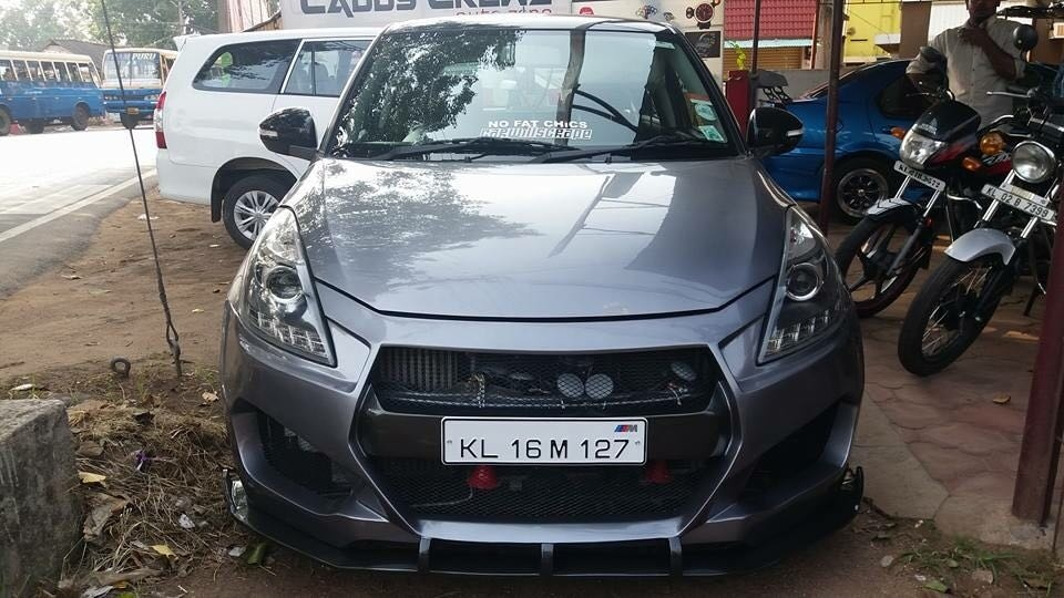 Body kit for new swift @motominds