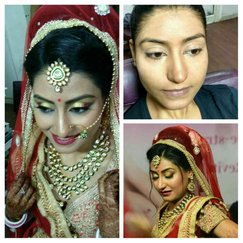 Beautiful Bridal Makeup by Manisha Somjee, Makeup Artist. Book your Bridal makeup  appointment before it is late 9327005240