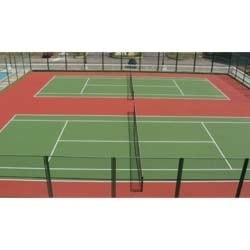 Tennis Court Flooring  We C3Serface are manufacturing and supplying of Tennis Court Flooring  in Mumbai.  As well as in India. We have become popular among our clients by offering a wide range of Tennis Court Floorings in different sizes and specifications. Constructed using premium quality materials, our collection meets varied quality standards.