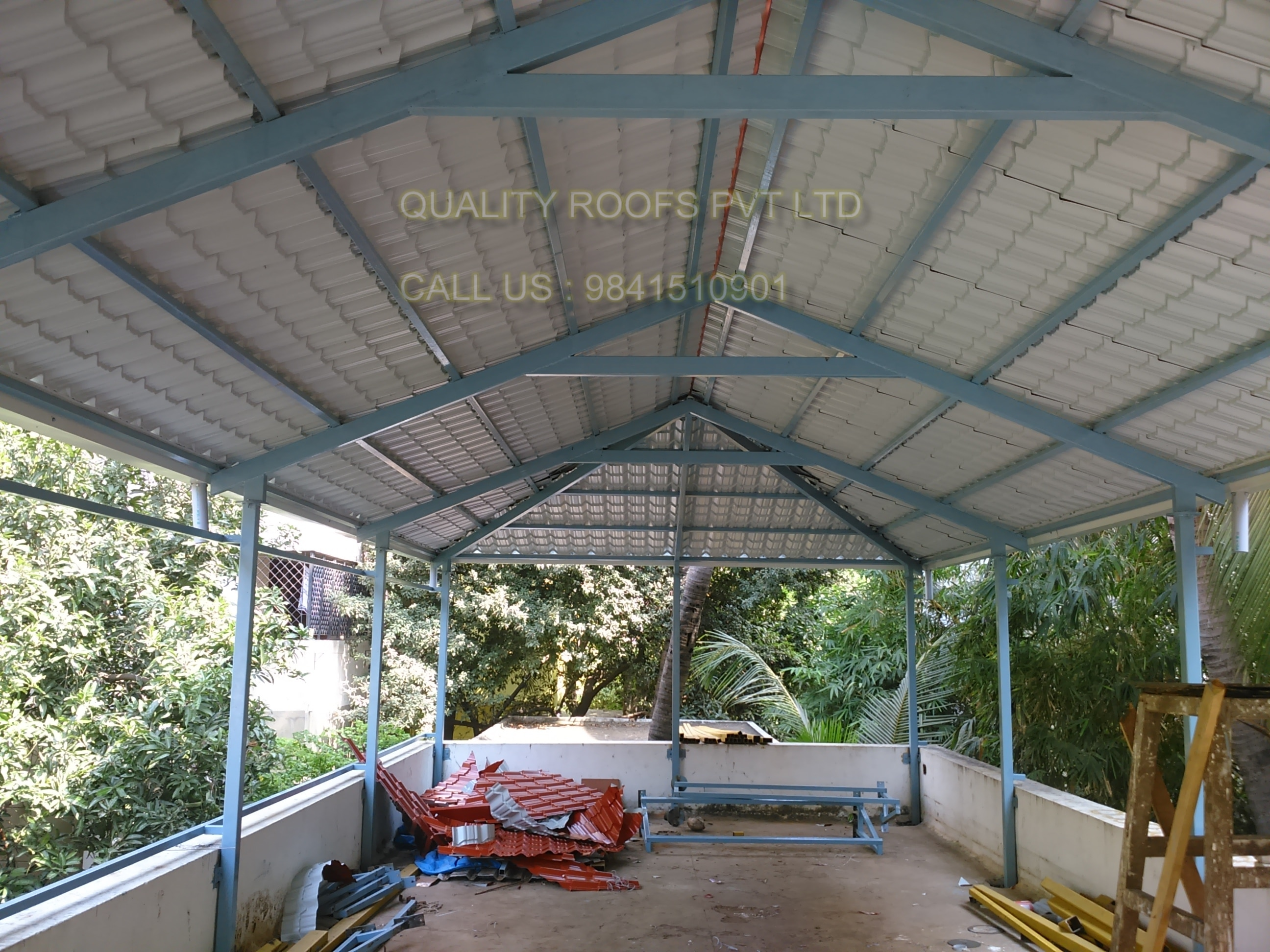 Metal Roofing Sheet Work In Chennai We are | QUALITY ROOFS PVT LTD