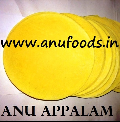 Anu Appalam - buy hygienic appalam wholesale for domestic or international markets at best price.   It is the very own trusted brand of Anufoods - the no 1 Appalam Manufacturers in Madurai, continuously appreciated as leading Appalam Exporters in Madurai, India.   for details,  http://anufoods.in/     Appalam Wholesalers in Madurai, Appalam Manufacturers in Madurai, Appalam Exporters in India, Appalam Suppliers in India.