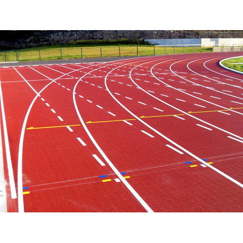 Professional Athletic Track Product Description: Pioneers in the industry, we are presenting Professional Athletic Track, which is durable in nature. These products are highly robust and available to the clients at very reasonable price.  Features: Varied patterns Flawless finishing