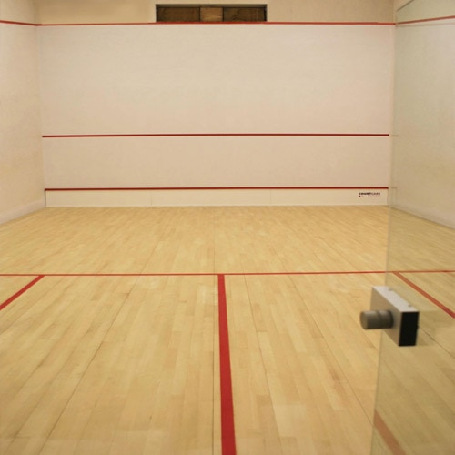Squash Sport Flooring We are offering our customers a wide range of Squash Court Flooring, which are available following Specifications:  1.5mm-thick Pvc wear-resisting coat: super endurance& wearing strength Double fiber-glass reinforced layer:make the flooring non-shrinkage and long service life Pvc wear-resisting coat: super endurance & wearing strength