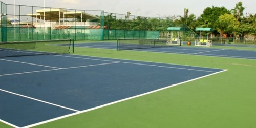 Tennis Court Floors We are offering to our valued customers a quality range of tennis courts. Tennis Court Floors, synthetic rubber courts & synthetic grass. The options that we have make sure that the customer gets exactly what he wants based on his budget & requirements.We can also provide the complete infrastructure required for setting up a tennis facility.  Features:  Cost effective High performance Long life