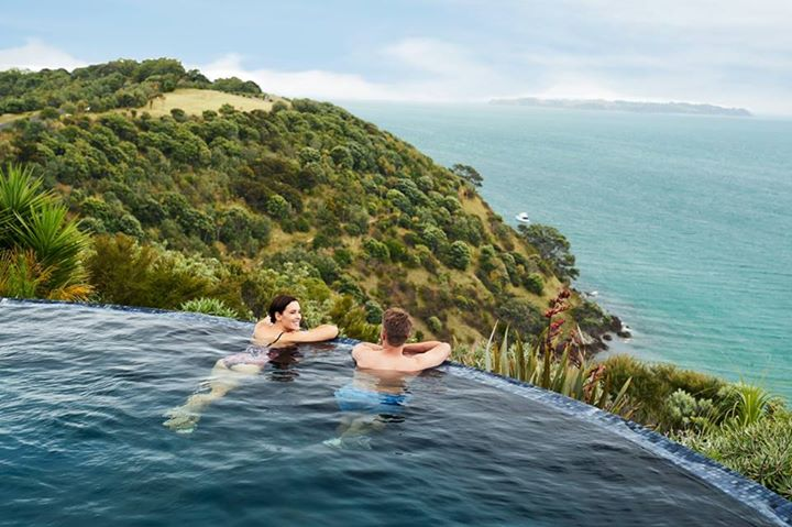 Waiheke is a haven of beautiful vineyards, olive groves and beaches, all just a 35-minute ferry ride from downtown Auckland.  for more details : https://goo.gl/F5D5pK