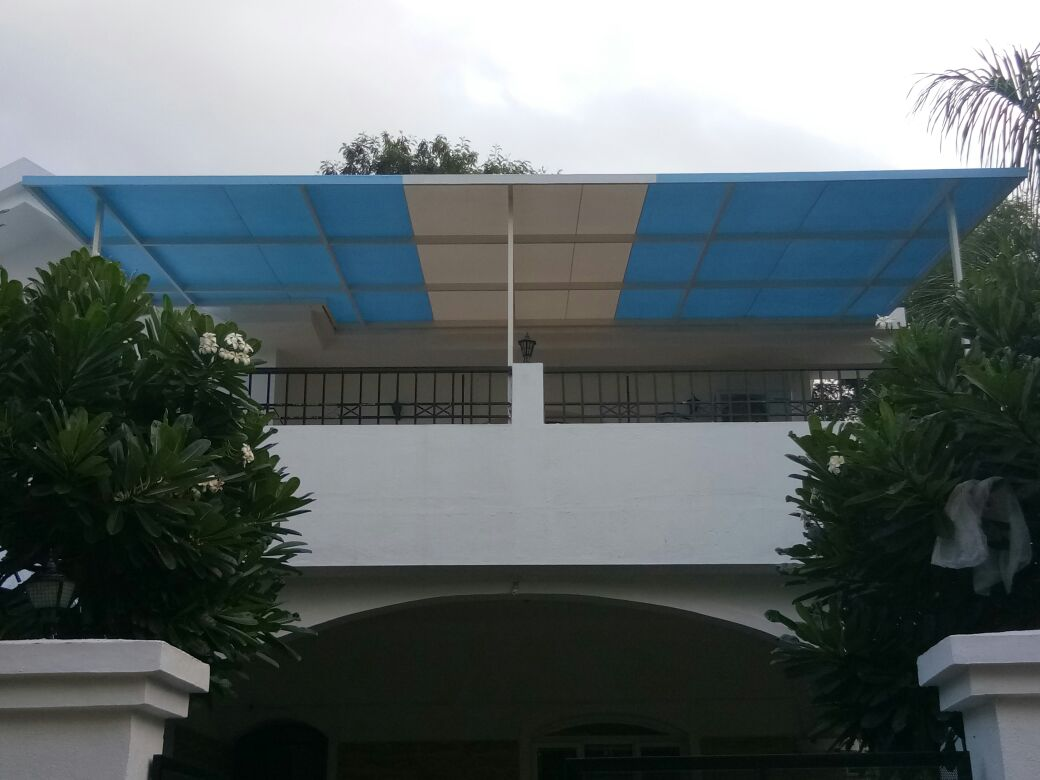 Fix frame awning . L