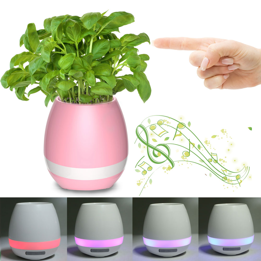 La La aa La !! The plants that sing !! The flower pot with L.E.D lights !!  Giftt Hub introduces the latest and a unique Bluetooth speaker !! The plant Bluetooth speaker. This innovative trending corporate gifting product has L.E.D changing lights and when you place the plant in it the and press the leaves it plays like a piano.  This flower pot Bluetooth speaker has gone viral with this Diwali. It is one of the hottest selling product among corporates. This wireless bluetooth speaker is a perfect DIWALI GIFT.  For more such interesting Bluetooth speakers and more innovative corporate giveaways keep following us.  You can visit our website too for the latest updates.