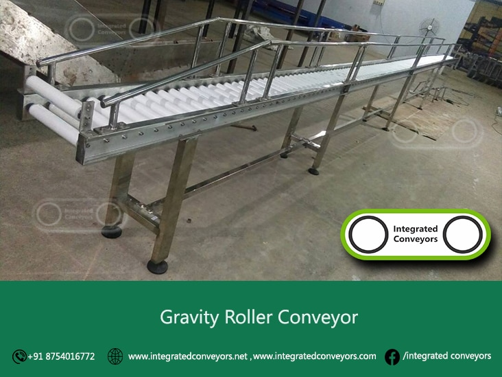 Stainless Steel Conveyors designed for frequent washdown and high-corrosive applications. Conveyors are normally manufactured of 304 grade Stainless Steel materials. Features and options may be modified to meet individual customer applications. Gravity conveyor components include: stainless steel frame, rollers, bearings, supports, sprockets and fasteners. Stainless steel conveyors are used extensively throughout the production of food products, beverages, pharmaceuticals, and many highly corrosive products. Check individual conveyor models to determine if suitable for sanitary environment applications.