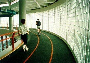Jogging Tracks Flooring  We Sundek Sports Systems are manufacturers of Jogging Tracks Flooring in Mumbai.  As well as in India. Product Details: BrandSundek  We hold immense specialization in offering a quality approved range of Jogging Tracks Flooring. Our range is specifically designed by the expert professionals, keeping in mind the latest trends and international quality standards. These floorings are always in demand and are widely demanded for their soft texture, non slippery surface, durability, easy installation and modern designing. We offer this range in standard specifications which can be further customized as per the particular requirements.