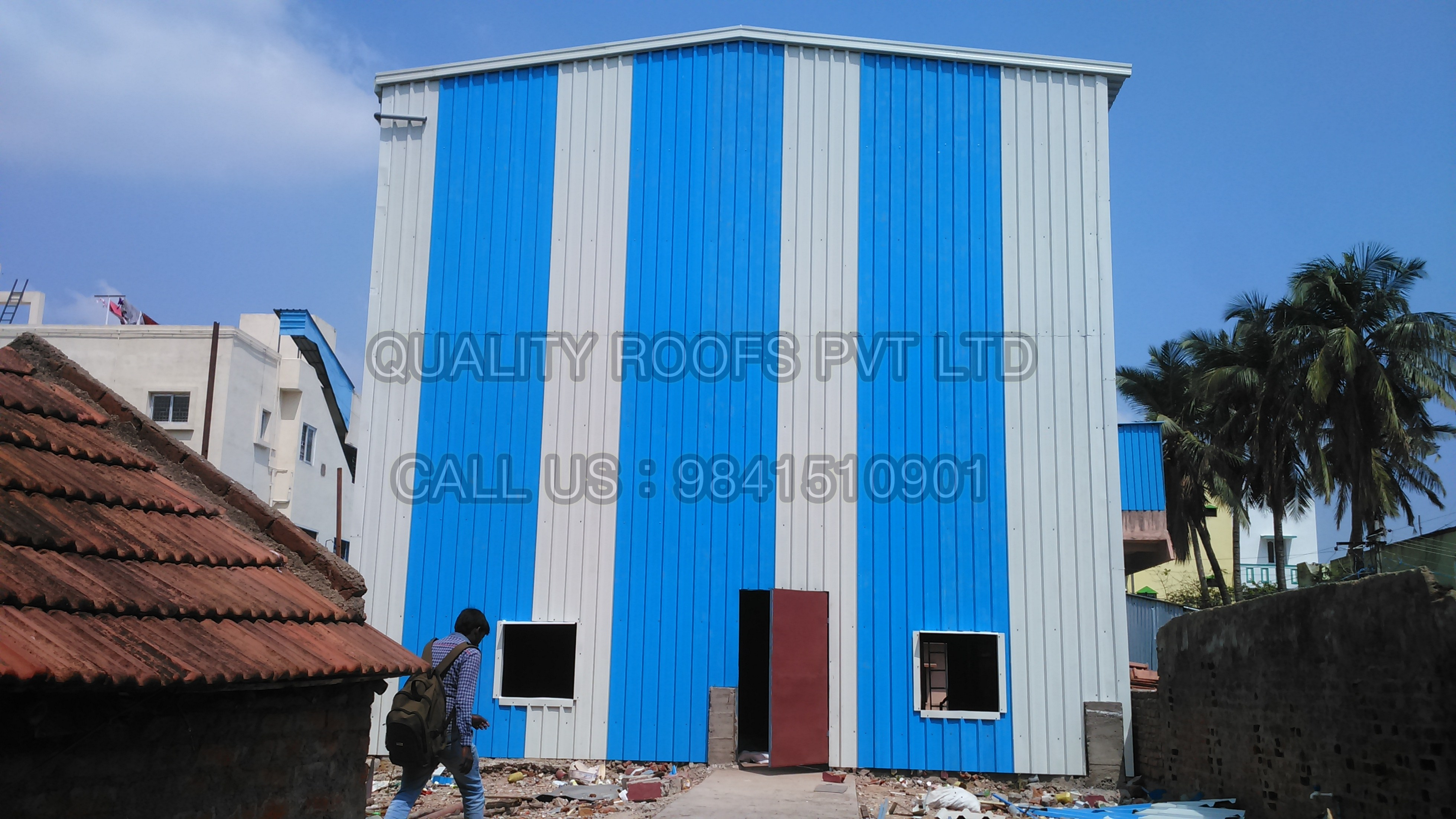 Best Badminton Roofing Contractors In Chennai  We are the leading Badminton Roofing Contractors In Chennai, we undertake all kinds of Badminton Roofing Sheds using best quality Roofing sheets with cost effective price.