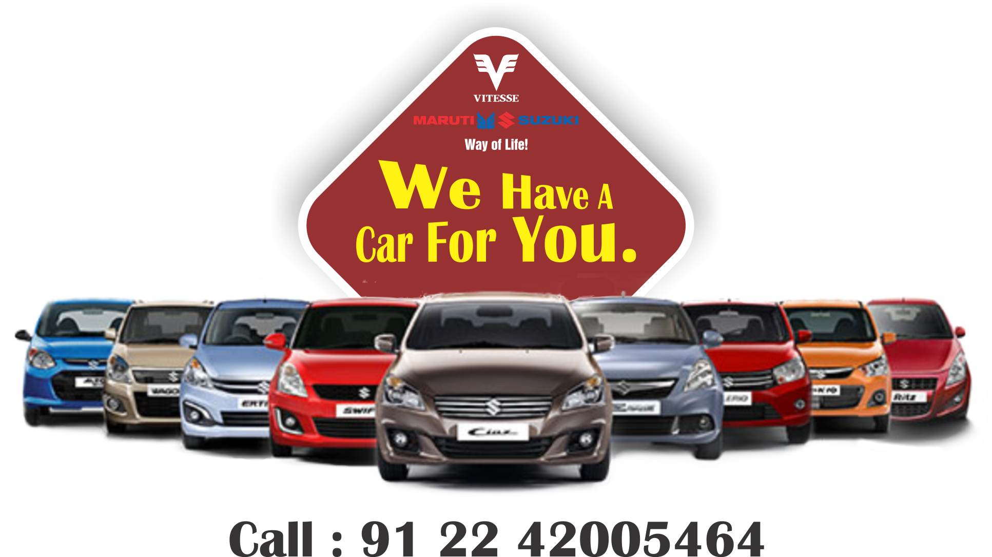 We don't sell cars. We help people buy them. Welcome to Maruti Vitesse. The Most Trusted & Oldest Maruti Dealership. 33 Years of Trust & Service.