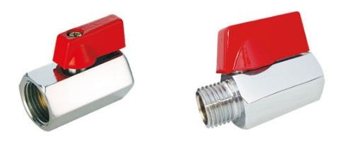 "Matrix Valves are prominent wholesale supplier of Mini Valves. Two types of valves: F/F Threaded with size range of : 1/4″ (8 mm) to  ½"" (15 mm) and M/F Threaded with size range of: 1/4″ (8 mm) to ½"" (15 mm) are provided."