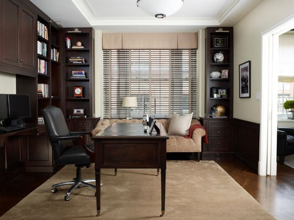 Home office can be used for the office works at home , neither can also be used by children's for doing the  home works.
