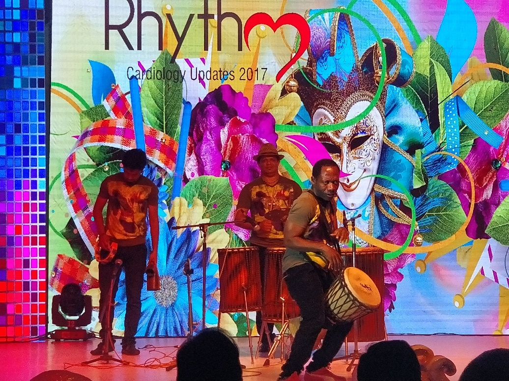 18 countries  18different languages. integrated by rhythm