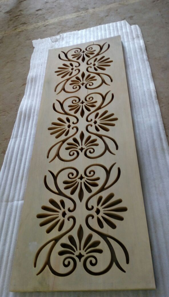 20 mm Thickness - SHERA BOARD - Architect Design Made In Water jet Cutting Machine..This Profile Used To locate In Reception hall in Office.  As per Our customer requirement we have cutting the design as per the given drawing.  For Example This Kind Of Designs Are Also Used In front of gate Designs , Portigo Designs, Balcony, Roofs , Marriage Reception hall, etc....  Good Finishing,  Immediate Delivery As Per Customer Requirement Date.  All kind of Engineering And Architectural Profiles Can Be Cut..  As Per Customer Requirements Three Type Of Finishing Done Here (Roughing, Medium Finishing & Smooth Finishing).  Around 205.0 mm thickness can be cut in our water jet cutting machine with smooth finish.  We have finished this job without any damage or Scratches.  with Perfect fitment  This design can be cutting to all kind of materials   Shera board- Architect Profiles.  For example Sealing, Gate, Portico, Wall Design.Roof design,