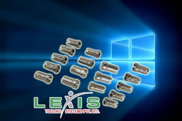 Double Angle Collet  DA Collets are well known in the industry as a reasonable collet system allowing reaching in to areas where other systems have clearance issues, mostly suitable for Drilling and Tapping applications.  Lexis India manufacturing Double Angle collets both in Metric and Inch sizes.  Double Angle Collets are available in 1/64 increments and in .5mm increments for metric sizes. Double Angle collets are also known in the industry as DA and VDA collets. Under no circumstances attempt to stretch the collets by clamping oversized cutting tools  On request we can support DA Collets with High precision collets, Inches sizes, Sealed Collets for coolant fed uses which can withstand upto 1000 psi pressure  & Tap Collets with superior design in back of the collet performances as a drive for the tap square.   Double Angle Collet ranges: DA100 Collet System DA180 Collet System DA200 Collet System DA300 Collet System DA Supra Collet System