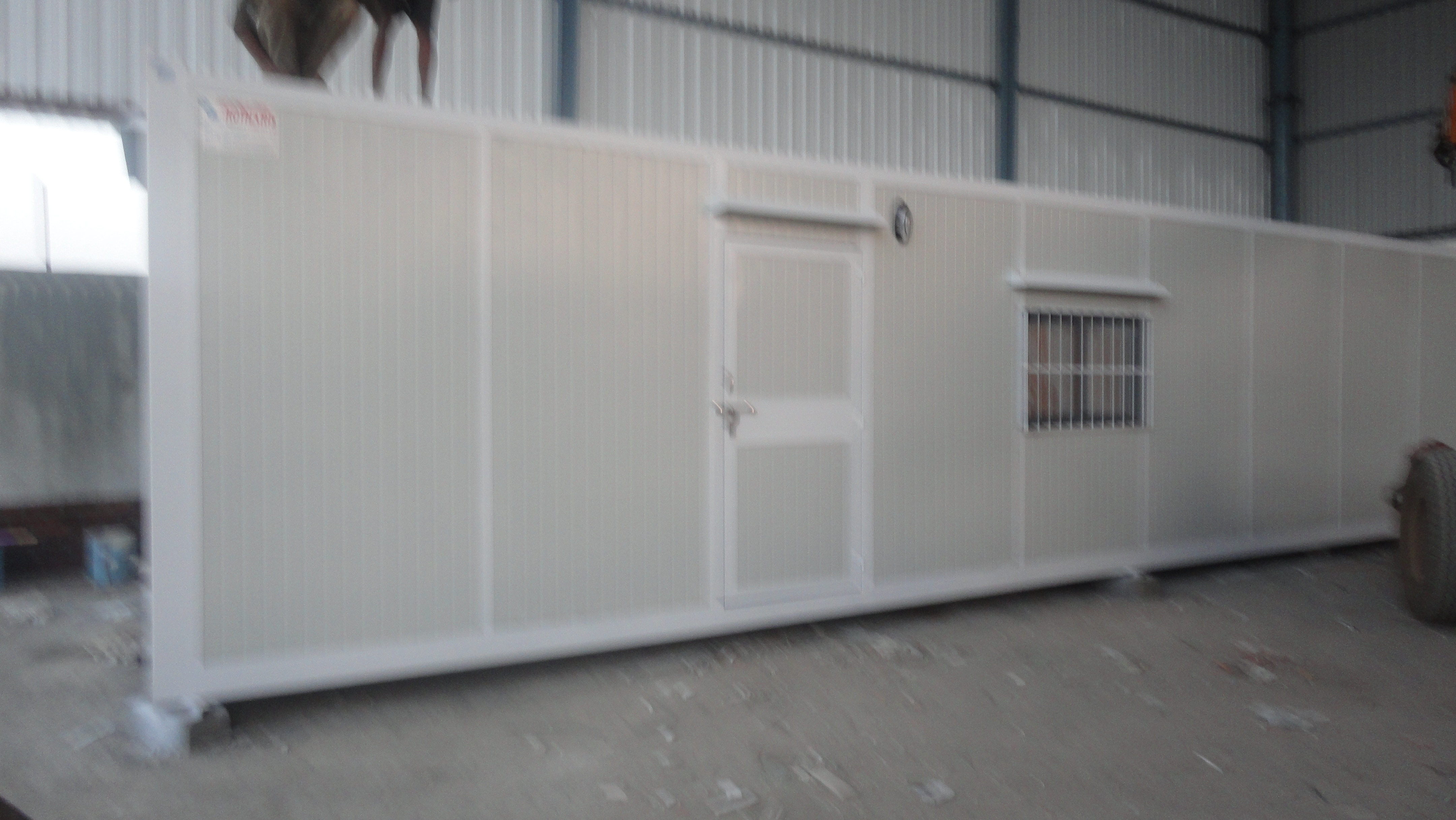 PUF Sandwich Panel CABIN   Description OF PUF SANDWICH PANEL cabin: Kotharis are highly anticipated entity instrumental in supplying and trading wide assortment of best quality PUF Sandwich Panel Cabins. We are assisted by our adept procuring agents to source the entire gamut from the accredited vendors of the market. It is used widely for building roofs and walls in several industries. Additionally, our clients can avail these from us in various specifications as per their needs.  Features of PUF Sandwich PANEL cabin:  •Commendable structure •Rugged construction •Precise dimensions  Benefits of PUF Sandwich PANEL cabin:  •These insulated panels gives long lasting value with controlled quality, precision & velocity of construction and caters for better functionality and application.