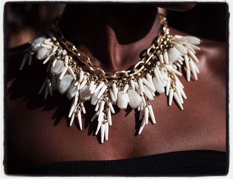 Who wouldn't want to wear this beautiful necklace from the Penny Winter collection at House of Treasures Emporium? Discover hidden treasures... #houseoftreasures #hiddentreasures #africainspiredjewelry #handmadecreations #madeinkenya #whyilovekenya #jewellerylove #beoriginal #styleaddict #necklace