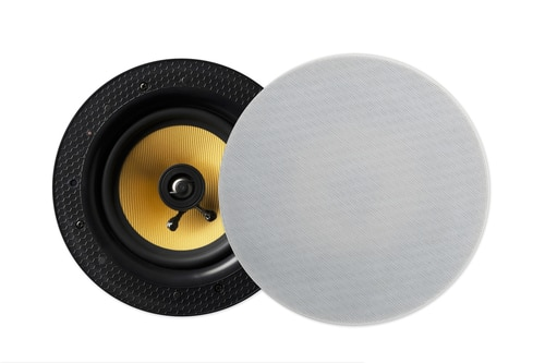 Lithe Audio Bluetooth Ceiling Speaker & Passive Speaker Kit  Wirelessly stream your audio from any Bluetooth enabled device such as an iPhone, iPad, Andriod phone or Bluetooth enabled PC. Ideal for larger rooms this kit includes a passive speaker which is connected to the Bluetooth speaker via speaker wire. Both speakers deliver smooth rounded tones with pin sharp clarity. The all in one solution with the amplifier and receivers built in to the speaker, all you need to do is add power, sync your Bluetooth device and play your music.  Pin protected model: 01564