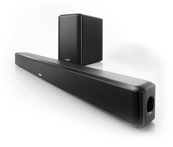 Denon Soundbars, available exclusively at Viewtech Hyderabad.  Denon DHT S514 soundbar,  Dual channel 2-way Soundbar to fit 42