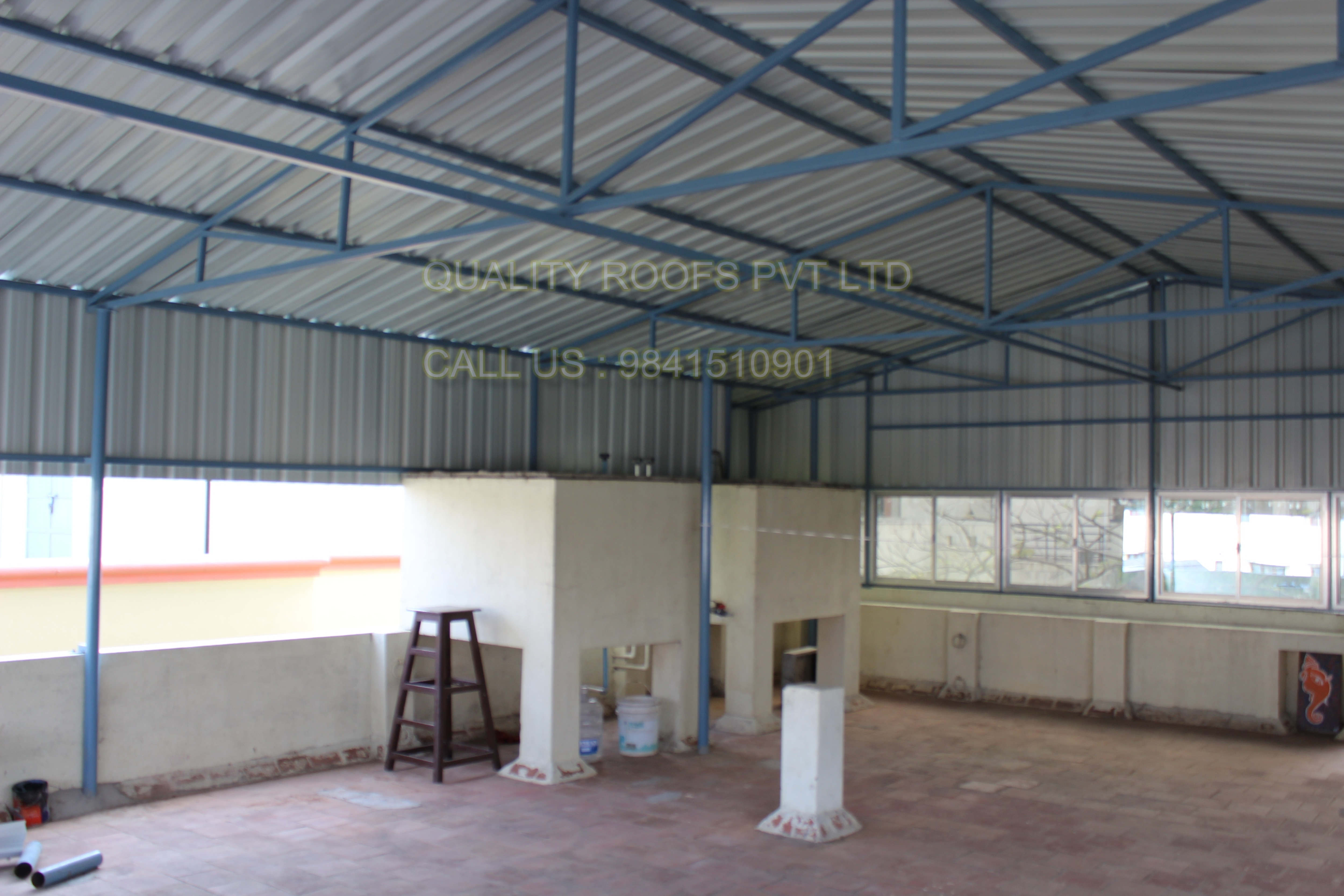 Cool Roofing Sheets In Chennai    We are offered Cool Roofing Sheets In Chennai. Furthermore, the anti-capillary grooves ensure leakage proof, wider valley ensures higher water discharge in case of heavy rains and the accurate thickness, width and length gives a perfect finest to any roof. Our skilled professionals use optimum quality components and advanced technology in line with industry quality standards. To ensure its easy installation, these sheets are well tested on different quality measures. We are the best Industrial Roofing In Chennai.
