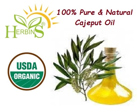 100% Pure & Natural Cajeput Essential Oil(Melaleuca Leucadendron) Cajeput Oil has a sweet rather penetrating smell. It is extracted by steam distillation of leaves and twigs from Melaleuca Leucadendron tree. It sometime referred to as white tea tree.  Uses : 1.	Cajeput essential oil clears and stimulated the mind, aiding in concentration  2.	Use in chest rubs to bring down high temperature and encourage the expulsion of mucus and congestion. 3.	Use in massage oils or salves(liniments) to relieve pain in muscular aches, arthritis and rheumatism. 4.	It is used in east for colds, headaches, throat infections, toothaches, sore and aching muscles, fever(cholera), rheumatism and various skin diseases.  And many more  Why us?  100% Pure and Organic Oils  Desired Quantity Offered  Reasonable Prices  Bulk And Ready Stocks   Shree Overseas Exports is USDA Certified Organic Supplier  We also offer private labelled bottles for buyers, with their company name / logo printed as per buyer's instructions  We will handover the shipment to Customs within 5 days of order confirmation with proper handling marking on master cartons.  Delivery Directly to FBA by UPS/DHL/Fedex is also available   We accept payment via T/T, LC, Paypal  We can deliver shipment to any Airport/Seaport in World as per your choice. We also have a/c with leading Courier Companies like : DHL, TNT, Fedex, EMS for doorstep deliveries to our clients  We can manufacture any:  Natural Essential Oils  Essential Oil Blends  Spice Oils  Rectified Essential Oils  Aromatic Chemicals & Isolates  Carrier Oil  Indian Vegetable Seed Oil  Traditional Indian Atars  Indian Absolutes and Waxes  Hydrosols