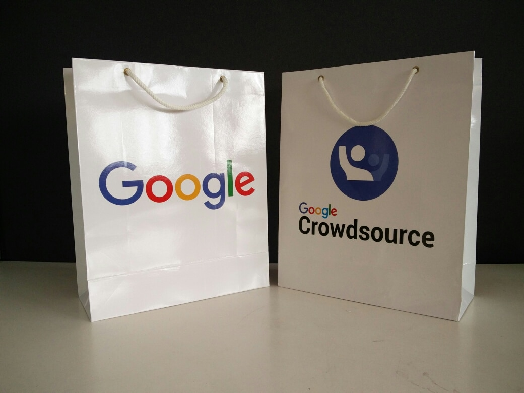 Thanks Google for keeping trust in us and giving such a huge order for paper bags. As a paper bag manufacturer manufacturers we always strive hard to give best paper bags in stipulated time.