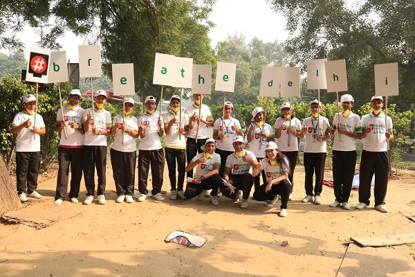 "To Mark World Sustainability Day, Delhi Teens Drive #breathe delhi: A Clean Air Campaign  New Delhi, 25 October 2017: To address the alarming air pollution in the national capital, city teens have rolled out the second phase of '#breathe delhi' - a clean air campaign in New Delhi on the occasion of World Sustainability Day. This campaign is a brainchild of Aadyaa Singhania, a 17 year young passionate student who is an environmentalist in spirit. Students of various schools along with Aadyaa and her friends started this campaign on 24th October 2017 at four major red-lights- Moti Bagh Crossing, Chirag Dilli Crossing, Moolchand Crossing and ITO Crossing New Delhi.  Delhi has over 10 million registered vehicles. Many commuters at red-lights keep engine running and an idling engine can produce up to twice as much exhaust emission as an engine in motion. Exhaust emission contains toxic air such as carbon monoxide, nitrogen dioxide, and particulate pollutants. The young enthusiasts requested the commuters to switch off the engines at the red lights which are longer than 15 seconds. They also distributed the informative literature and anti pollution masks while spreading information on basic steps which we generally overlook but can play a vital role to combat growing level of air pollution.  Speaking about the Clean Air Campaign #breathe delhi that Aadyaa is currently driving in the city, she said ""Our national capital is among the top air-polluted cities across the globe and in a recent report by WHO, Delhi is ranked 11th among 3, 000 cities in 103 countries in terms of PM2.5 (fine, particulate pollution) and 25th in terms of PM10 (coarse pollution particles) levels. To combat the alarming level of pollution in the city we became active on ground. I reached out to a number of schools to enlist volunteers amongst children like me who can influence their parents and others in a positive manner. After all it is our future that we are trying to protect.""  Giving her perspective she added ""Everybody in India feels that somebody else should take care of pollution problem and very easily passes on the blame to the government. It is certainly the responsibility of every individual towards the environment. We are the ones that are contributing to deteriorating of the environment. While we have been progressing as a human race, we have been doing it at the cost of the environment. It is time that we payback our longstanding debt to the environment. We can start by keeping the environment green by planting trees and bio composting, by watching ourselves and making sure we don't contribute negatively to the air quality such as by being more mindful in the choices we make in our day to day life for example- switching to better quality fuel, reducing DG sets, making sure our cars meet the emission norms etc.""  The 12 days long first phase of the campaign was organized at Moti Bagh and ITO crossings around Earth day in April this year. During the first phase, Aadyaa also organised awareness sessions on environment conservation and sustainability at Sadhu Vaswani School, Blue Bells International & Mount Carmel in the city. Recently, Aadyaa planted over a 100 saplings at the SDMC Primary Co-ED School RK Puram, Delhi as a futuristic step to improve the air quality. She has also started a waste paper recycling initiative in association with Green O Tech, a wastepaper recycler, in which waste papers are being collected from corporates and recycled into eco-friendly notebooks. These notebooks are being distributed free of cost to underprivileged students.  Inflicted by asthma attacks in her childhood days, Aadyaa, from her early days, felt very strongly for the need of clean air quality which was a prime reason for suffering of many kids like hers. She became a passionate environmentalist and because of her concern for the environment and desire to make a difference, she pursued a certificate course in ""Introduction to Environmental Sciences"" from Darthmothx.  Her stints in the field of environment conservation include her association with TERI, her work   with Professor Rajam, Delhi University, to find a bacteria that consumes lead, a constituent of air pollution in Delhi as well as algae that is more efficient in conversion of carbon dioxide to oxygen and her work with Ricardo India Pvt. Ltd., a Renewable Energy & Environment Expert amongst many others.  After completing initial schooling from Vasant Valley School, Aadya went to pursue higher grades at Haileybury and Imperial Service College, UK, in 2014. Her trips to Delhi in the past few years highlighted the stark contrast in the environmental conditions, especially Air pollution in London and Delhi. Moved to make a change, Aadyaa first studied the similarities and the evolution of both the cities and has now taken upon herself to create awareness as well initiate doable projects.  In her attempt to make a difference at the policy level, she has researched and written a paper on the inclusion of Pollution as a subject in the curriculum. She has also tried to highlight how pollution is taught to the school children in the US and UK under the Fulbright Scholarship Institute vis-a-vis NCERT. She is determined to pursue her interest and continues to contribute in raising awareness amongst the youth and finding big and small solutions for improving air quality in our city and securing a healthy future for our generations to come.  Aadyaa has been associated with the NGO, ""Care for Air"" to monitor Air pollution during the pre and post odd-even scheme run in Delhi. She had also raised funds and worked with an NGO, Ritanjali, to set-up a school to help the Uttarakhand Disaster victims in 2013.  Explore More: https://www.delhipedia.com/Home/Category/PressRelease"