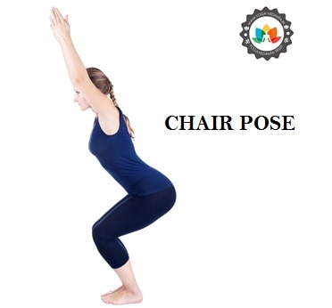 HOW TO PERFORM CHAIR POSE (UTKATASANA) Utkatasana or Chair pose is one of the best yoga poses for beginners as it is a simple 'standing asana'. The term Utkatasana is a combination of the words 'Utkata' (the Sanskrit word for fierce or hazardous) and asana (meaning posture); this is why this pose is sometimes referred to as the 'Fierce Pose' or the 'Hazardous Pose'. Utkatasana is called the Chair pose as it looks like you are sitting on an invisible chair. Basic yoga poses such as Utkatasana are ideal yoga exercises for beginners as they also improve overall flexibly and balance.  Utkatasana (Chair Pose) Steps Stand straight with an erect spine and your arms at your side. Keep some distance between your feet. Stretch your hands forward to keep them parallel to the ground. Hands should be straight and palms should be facing downward. Now bend your knees and bring your pelvis down like sitting on a chair. Try to brings your thighs parallel to the ground. Hold this position for one minute and keep breathing normally. Bring a smile on your face. Now release your pose to come to the starting position Repeat it for 3-4 times. Utkatasana, Chair Pose Benefits Stretches your thighs, hips, hands and spine. Strengthens abdomen area. Strengthens thighs, knees, ankle, leg, hands, and torso. Improves balance of the body. Stimulates heart and diaphragm. As it is a beginner's yoga pose it must be performed under the expert's supervision. If you want to learn this yoga poses you can join 200 Hours Yoga Teacher Training Program (YTTC) that has been conducted by one of the best Registered Yoga School (RYS), Yoga Vedanta at Rishikesh- Yoga capital of the world. This training program is mainly for the beginner's. Here you will get the chance to practice yoga under the guidance of experienced instructors and in the pleasant environment of Rishikesh. For more information about this yoga school you can visit us at- http://yoga-vedanta.in
