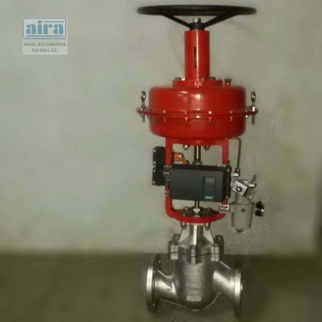 """Control Valve - Today i am going to Introduce to our Success Running Product 'CKD Model' 2/2 & 3/2 Pneumatic Diaphragm Low Temperature Control Valve.  We offered ½"""" to 12"""" Size and 220°C Temperature and many more features we provide so to know more click on below link.  https://goo.gl/2puZv5  Thanks & Regards Aira Euro Automation Pvt Ltd."""