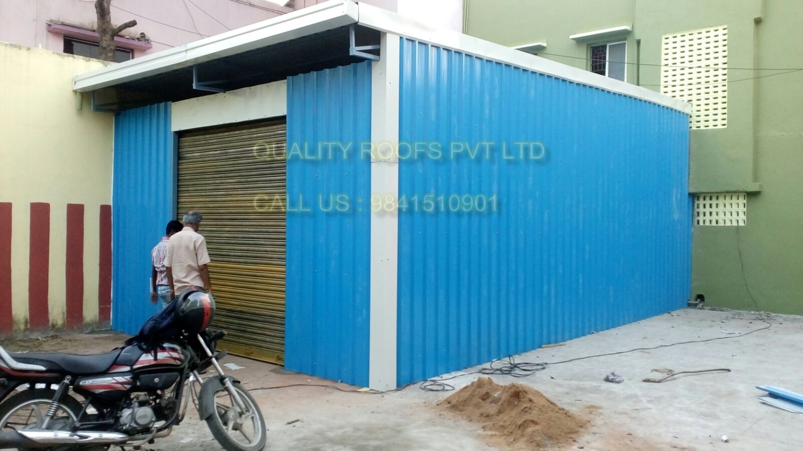 Warehouse Roofing Contractors In Chennai   We are the topmost for this industry we are providing Warehouse Shed Contractors.  The sheds fabricated by our expert team are thoroughly tested on the quality parameters. These are provided as per the set industry norms and guidelines. Manufactured using high quality material, we are providing this shed in various sizes at very reasonable price to our clients. we are specialized Roof Designer In Chennai.