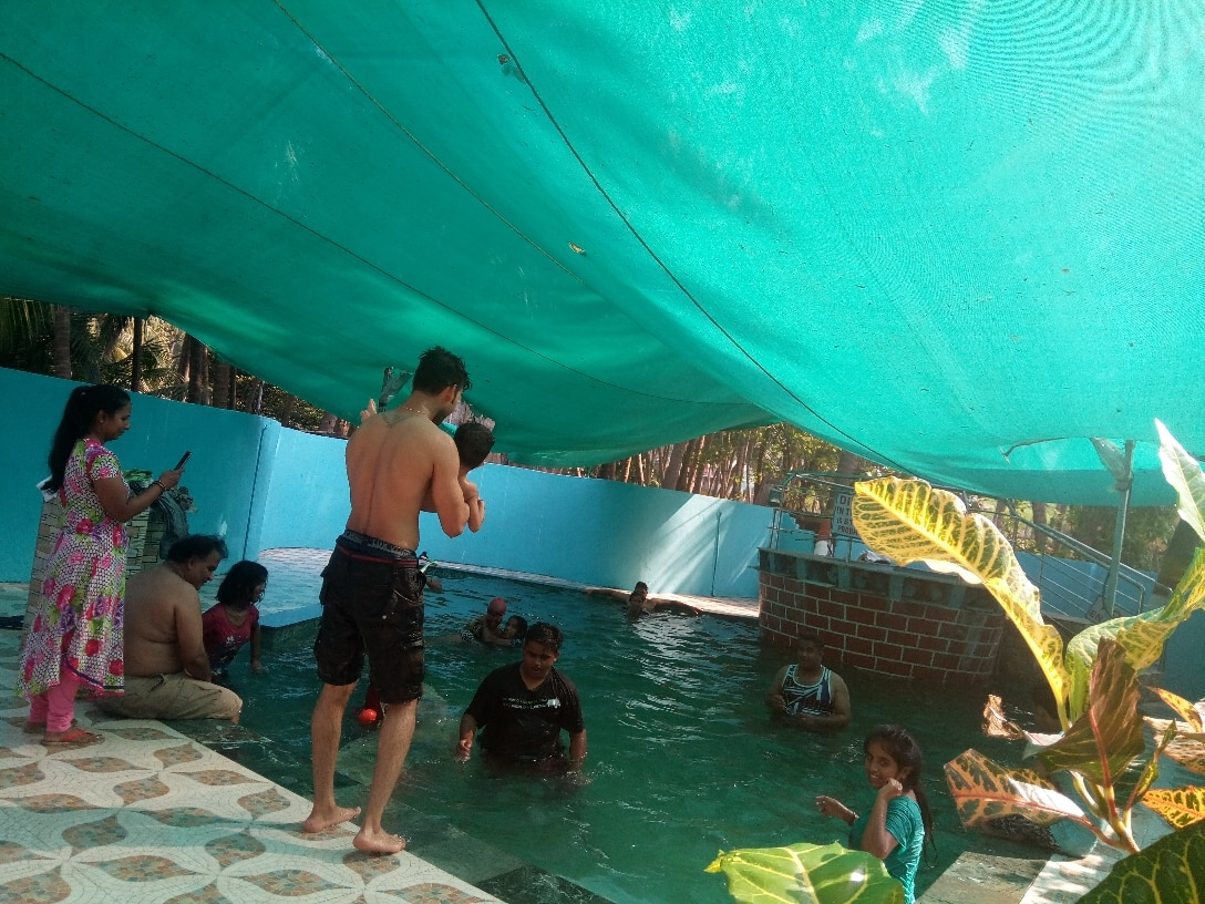 Low cost swimming pool party at Gorai Fonseca : Fonseca ...