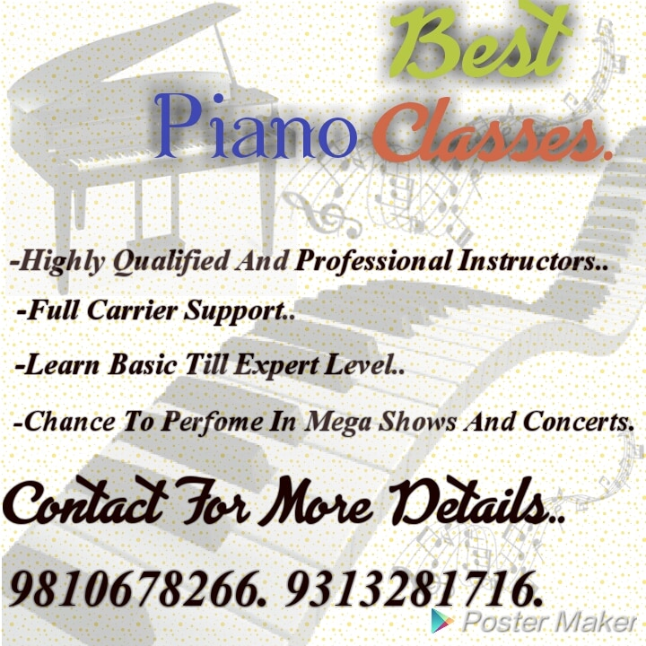 Best Keyboard Classes In South Delhi.  Highly Professional Piano/Keyboard Artist Available To Train You. Learn Piano on Hindi Music,  Western Music,  Western Classical Music, Jazz Music, Blues Music with Exams from Trinity College London.