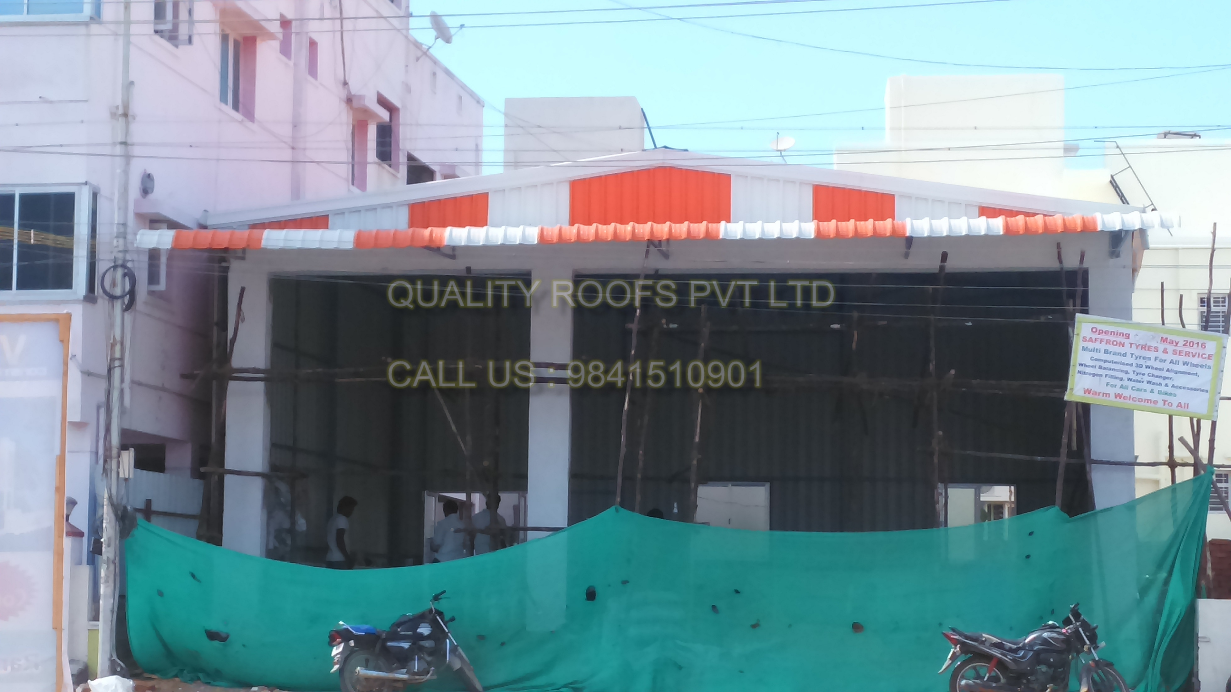 Metal Roofing Contractors In Chennai<br/>   We are the best Metal Roofing Contractors In Chennai. We are providing a qualitative assortment of Metal Roofing Shed. This product is manufactured by our experienced professionals. The offered products are manufactured at our vendor's end by using high quality base material in adherence to international quality standards. We are the leading Roofing Companies In Chennai.