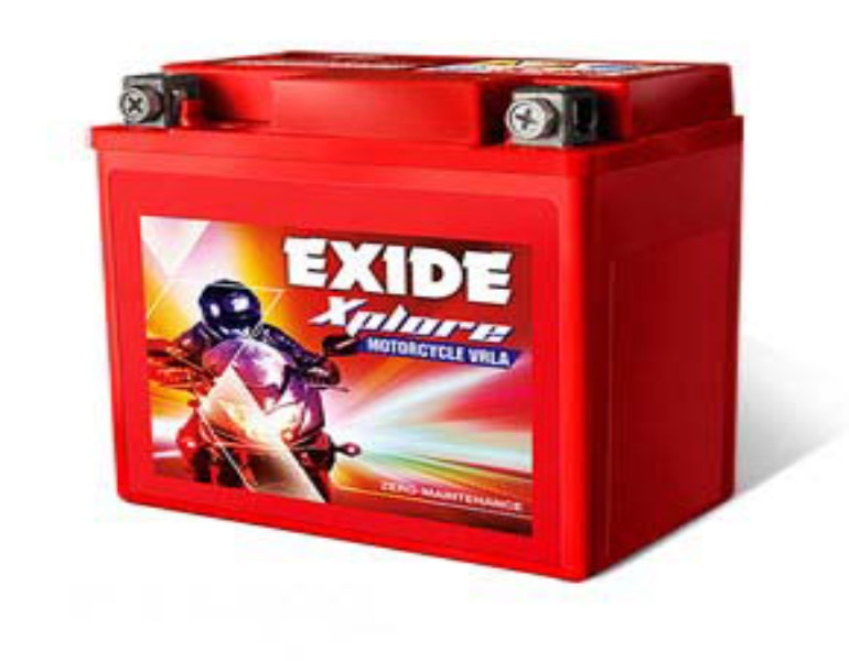 Exide Two Wheeler Battery Exide Two Wheeler Battery Dealer Exide  Introducing Exide two wheeler battery The only zero-maintenance VRLA motorcycle battery with the X Factor.Built with world-class Calcium Effects Technology, it delivers a power-packed performance and endures tough Indian road conditions.