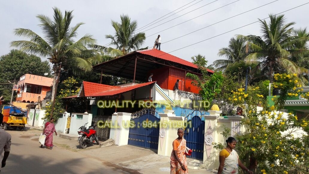 Terrace Roofing Contractors In Chennai    We are the best Terrace Roofing Contractors In Chennai. This shed is used for roofing shed can be customized as per the ever evolving needs of the clients. This roofing shed is carefully manufactured with the help of qualitative raw material that we procured from the reliable sources of the market. Clients can avail this shed from us at reasonable price. We are providing Roofing Materials In Chennai.