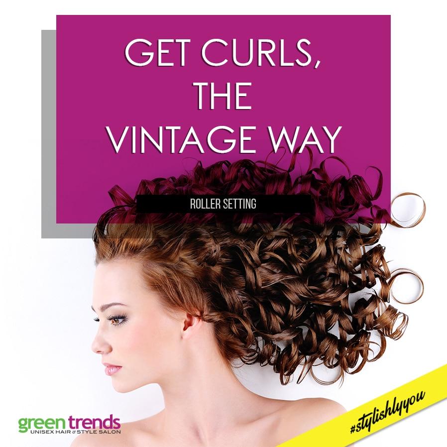 Hair Colouring At Green Trends Kelambakkam A New Hair Colour Can - Green trends change of hairstyle