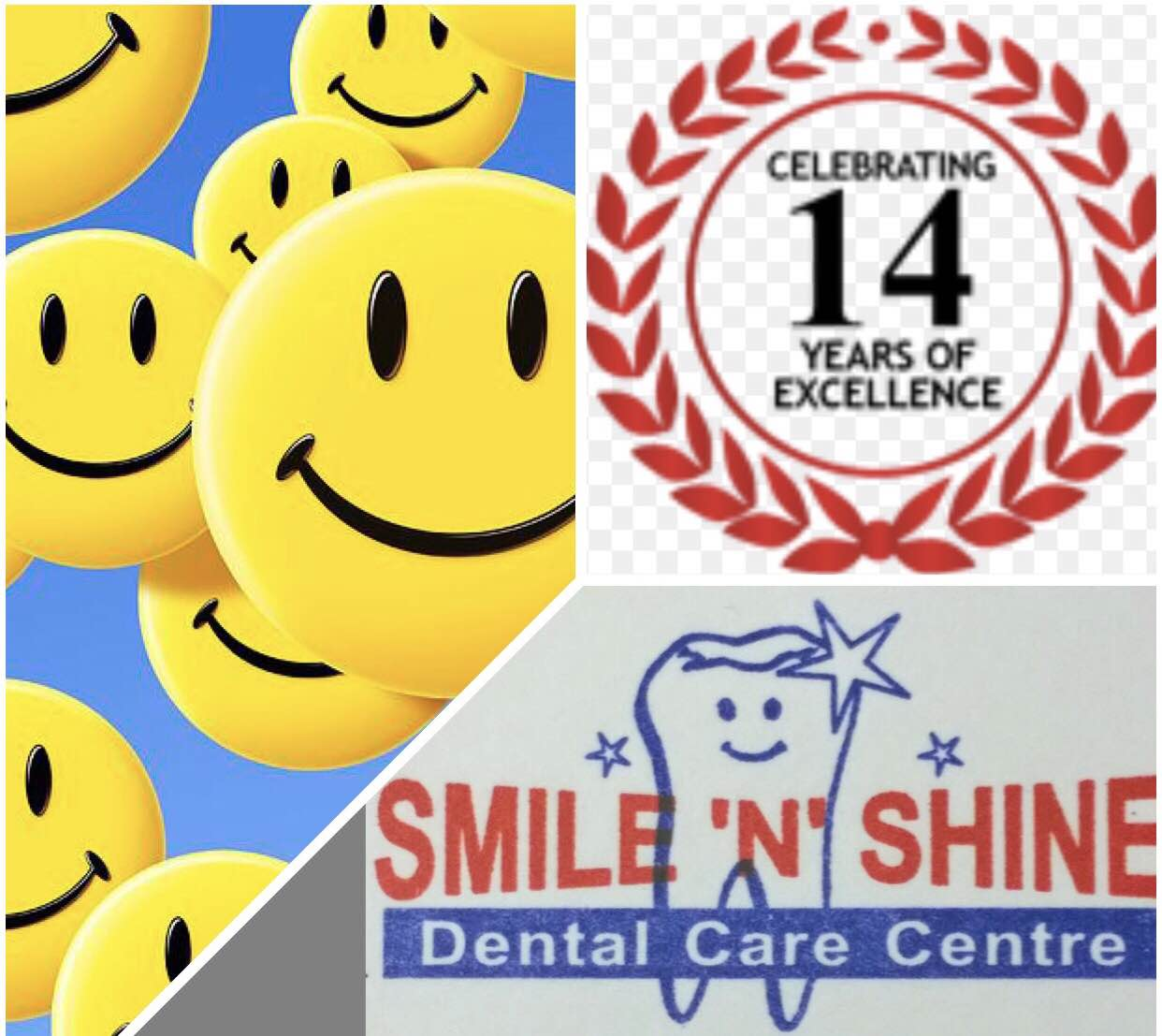 Smile n Shine Dental Care Centre - DLF city -2 GURGAON happily announces completion of 14 years of excellence. We wish to thanks our entire Team of Specialists . We are in constant endeavour to serve our best to all are patients. Please feel free to call us or take online appointment. Open all 7 days Special offer Complimentary ORTHODONTIC and IMPLANTS Consultation 10 percent discount on ORTHODONTIC treatment & IMPLANTS