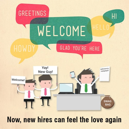 New employee welcome kit suppliers in Mumbai  Like they same