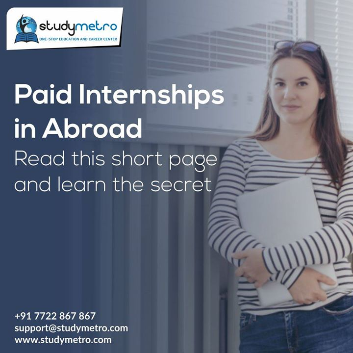How To Apply for Paid Internships in Abroad In 30 days With Apply for Internships in Abroad and earn up to $10-$15 per hour. Discover how savvy Students use this revolutionary Free ebook and step by step training for getting abroad Internships to Apply for Paid Internships in Abroad without Not knowing where to start and having information overload. Struggling with Facing rejection and failure for internships and job. ? Click Here To Get Help Now!   http://ow.ly/YiHZ30htRCc